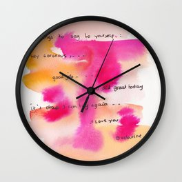 4    | Gentle Reminder Words |190826 | Wall Clock