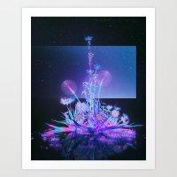 ULTRAVIOLET SPACEJAM 6 (everyday 06.22.17) Art Print