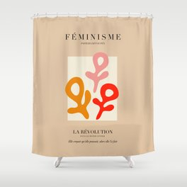 L'ART DU FÉMINISME II Shower Curtain