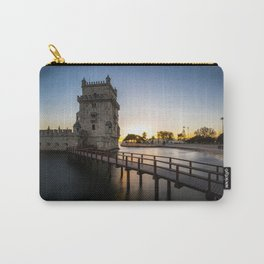Torre de Belém at sunset Carry-All Pouch