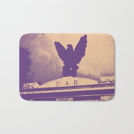 Daughters of the American Revolution modern photography print - Colonial Park Cemetery Bath Mat
