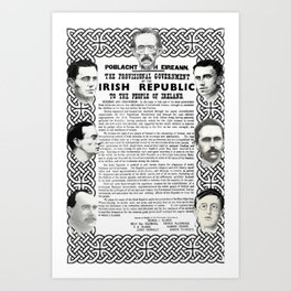 The Proclamation of the Republic Art Print