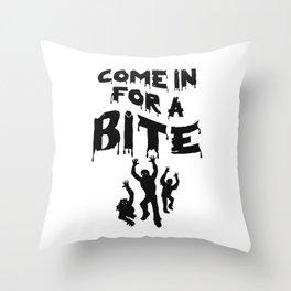Zombie Halloween Throw Pillow