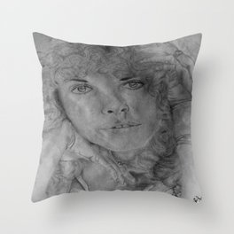 I cant wait Throw Pillow
