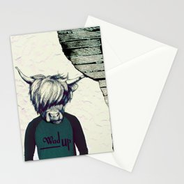 Yak Head Stationery Cards