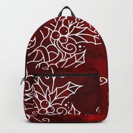 CHRISTMAS MANDALA MARBLE Backpack