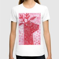 reindeer T-shirts featuring Reindeer by Nic Squirrell