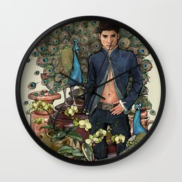 Exotic Fortunes Wall Clock