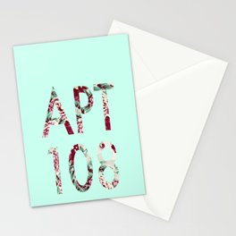APT108 Flowers Stationery Cards