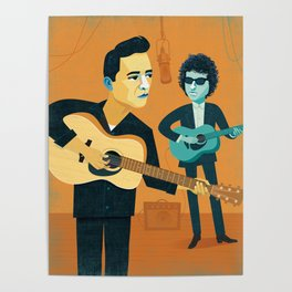 Bob and Johnny Poster