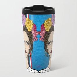 Viva la Frida Travel Mug