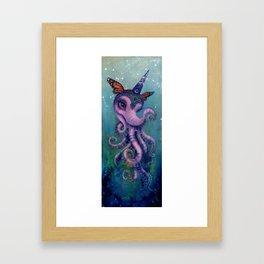 The Magical Butter Octophant Framed Art Print