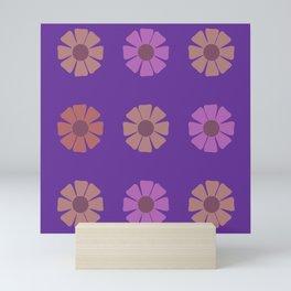 Flower Totes Pattern Mini Art Print