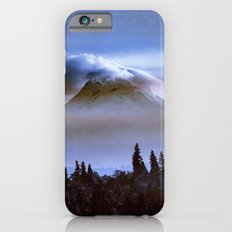 Mountains and Forest - Cloudy Mt Hood Mountain iPhone 6s Slim Case