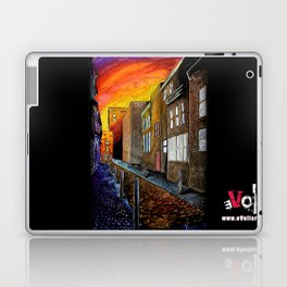 A Cobbled Street Laptop & iPad Skin