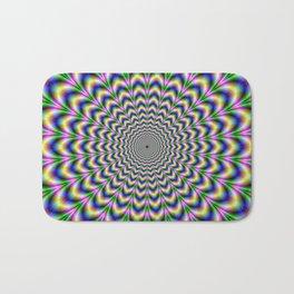 Crinkle Cut Psychedelic Pulse Alternative Color Bath Mat