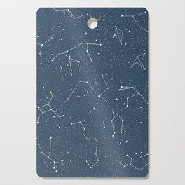 Star night constellations Cutting Board