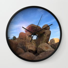 Stone Formation Wall Clock