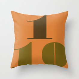 OCTOBER 1st Throw Pillow