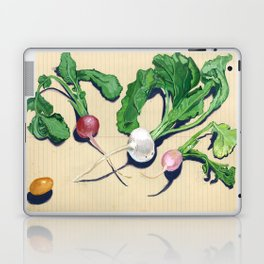Easter Egg Radishes in Gouache Laptop & iPad Skin