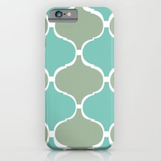 Marrakech Pattern Sea Green Slim Case iPhone 6s