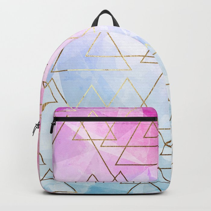 Collage geometric Backpack