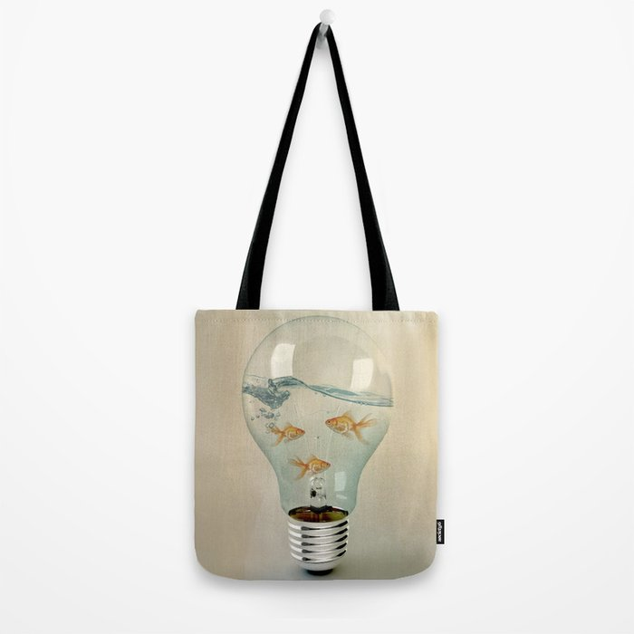 ideas and goldfish 03 Tote Bag