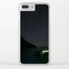 St Lucia Stars Clear iPhone Case