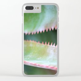 Pink Teeth Clear iPhone Case