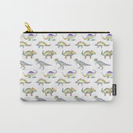 T-Rex Watercolor Print Carry-All Pouch