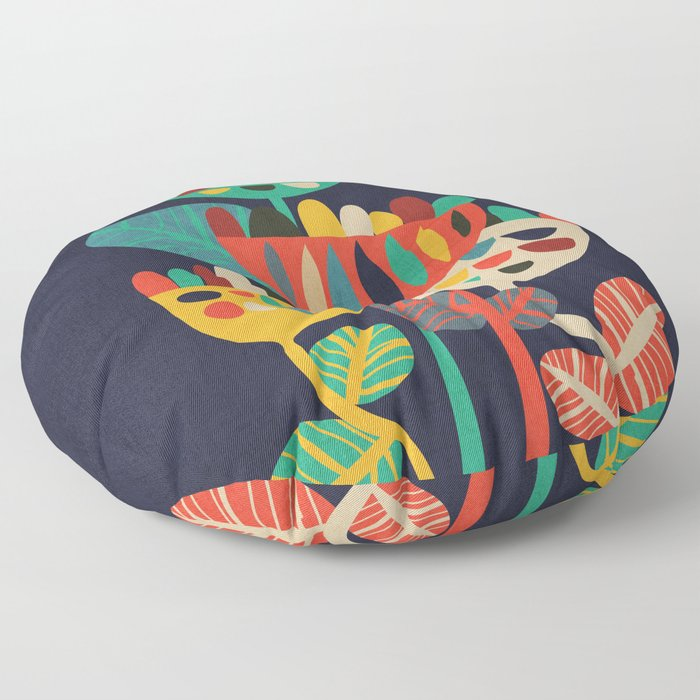 Wild Flowers Floor Pillow