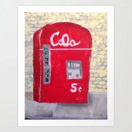 Cream City Cola Art Print