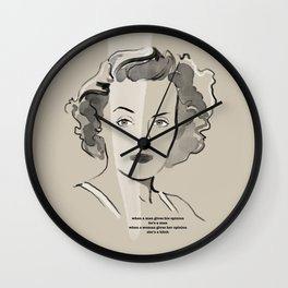 Immortal Icon 02 Wall Clock