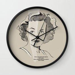 Immortal Icon 02 Wall Clock