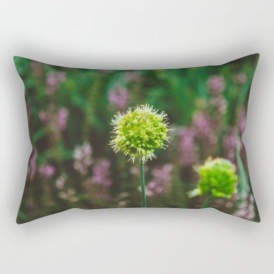 Let's Be Still Rectangular Pillow