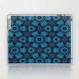 Black and Blue String Art 4406 Laptop & iPad Skin
