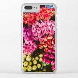 Flower Market in Hong Kong Clear iPhone Case