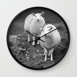 Rhos and Silly Wall Clock