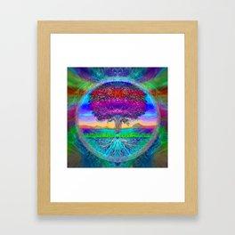 Everlasting Wonder Tree of Life Framed Art Print