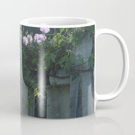 Southern Purple Morning Glories Coffee Mug