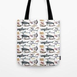 Marine wildlife Tote Bag