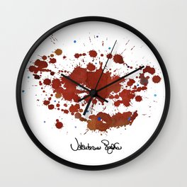 "INTERVENTIONS ""series"" Wall Clock"