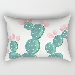 Painted Cactus Rectangular Pillow