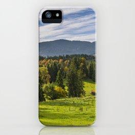 Alpine Landscape iPhone Case