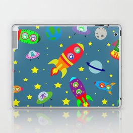 Rockets to the moon Laptop & iPad Skin