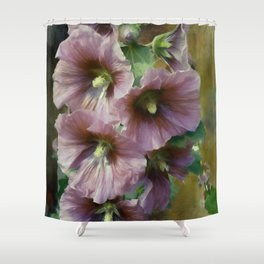 What A Holly Day Shower Curtain