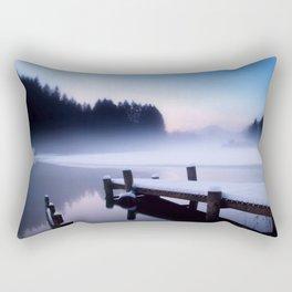 Winter Blues At Loch Ard Rectangular Pillow