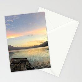 Lake Atitlan Sunsets Stationery Cards