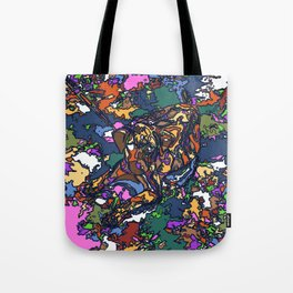 Coffee the Puppy Tote Bag