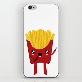FRENCH FRIES SUPERSTAR SINGER iPhone Skin